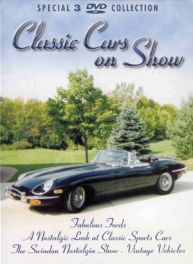 Classic Cars On Show 3-dvd Set (pal - Region 0)