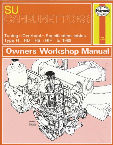 su carburettors owners workshop manual motoring books chaters rh chaters co uk Marvel Carburetor Manual Workshop Manuals for Cars