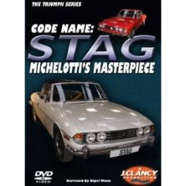 Code Name: Triumph Stag Michelotti's Masterpiece Double DVD