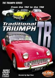 Traditional Triumph TR from the TR2 to the TR6 Double DVD