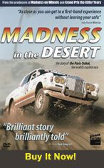 Madness In The Desert (56 Mins) DVD