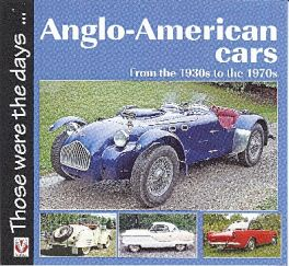 Anglo-american Cars From The 1930s To The 1970s
